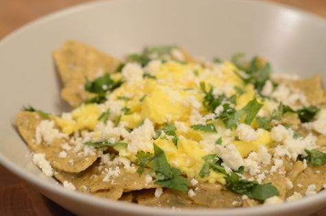 Chilaquiles Verdes | Recipes I Want to Try | Pinterest