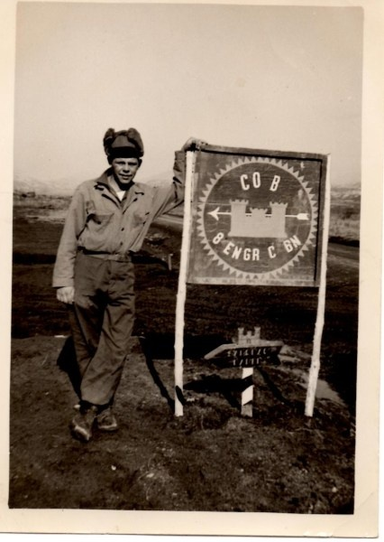 Donald Degood, Marysville, Ohio.  Korean War veteran with lots of stories!