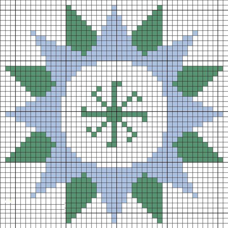 Вышивка квадрат сварога 29