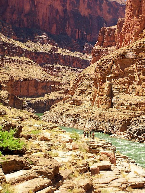Can you imagine hiking here? (Colorado River) -- Just WOW!