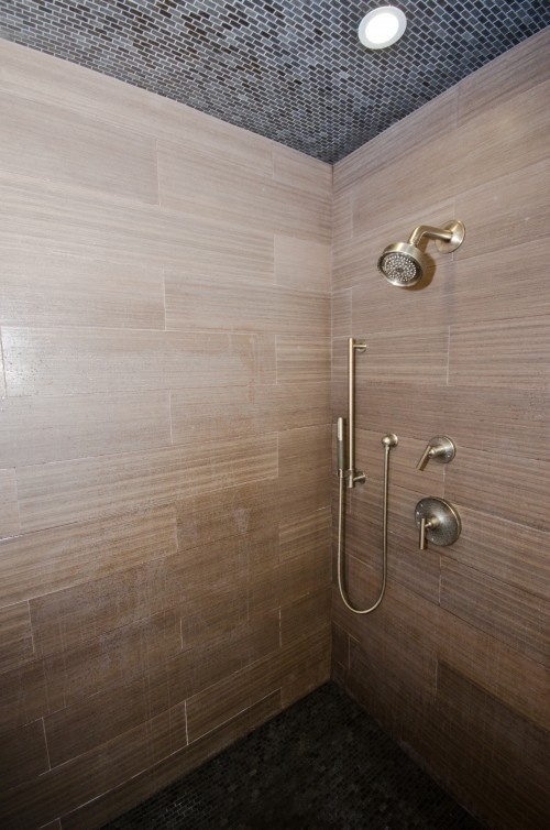 For Our Masterbath Faux Wood Tile In Shower Different