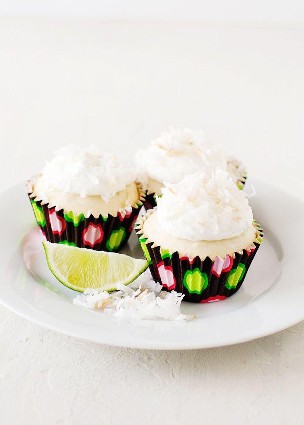 Coconut Lime Cupcakes | Recipe
