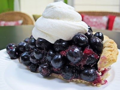 The Best #blueberry #pie Ever