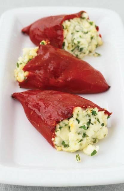 Feta Stuffed Peppers | *Appetizers | Pinterest