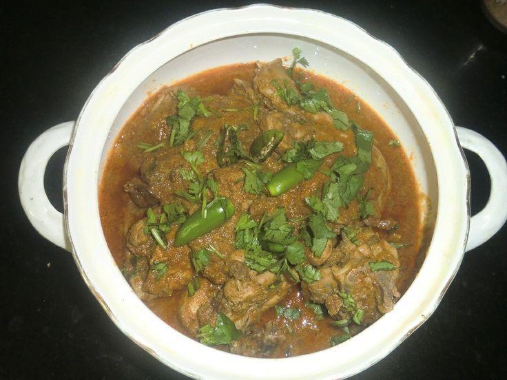 Indian Garlic Chicken recipe