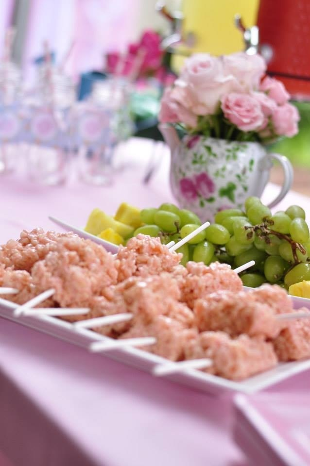 Shabby Chic Food Table Shabby Chic Baby Shower Pinterest