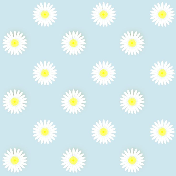 FREE printable daisy flower scrapbooking paper (- pdf and digital seamless pattern)