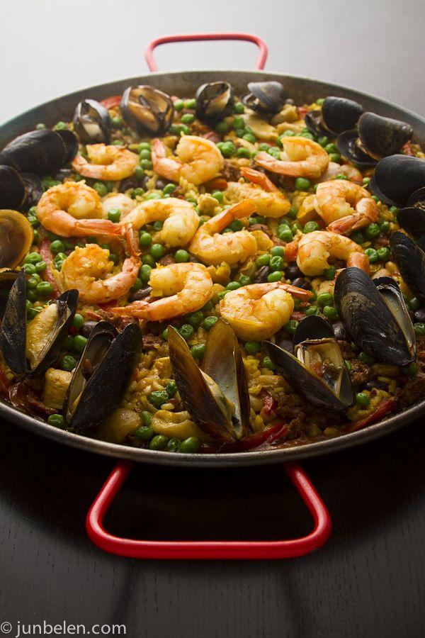 Seafood Paella Recipe | dinner time | Pinterest