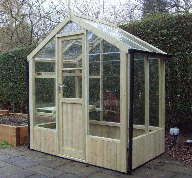 Swallow kingfisher 6x4 wooden greenhouse for Octagonal greenhouse plans