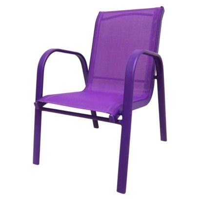 Target Stacking Chairs Purple Patio Party! | Apartment Decor | Pinterest