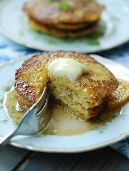 Cornmeal Pancakes: Sweet (with Orange Zest & Maple Syrup) or Savory ...