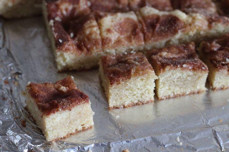 Gooey Cinnamon Cake Squares | Desserts | Pinterest