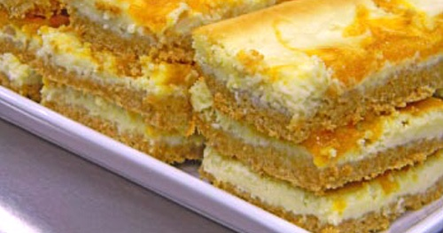 Avec Moi / Apricot Cheesecake Bars | Recipes and Yummy stuff | Pinter ...