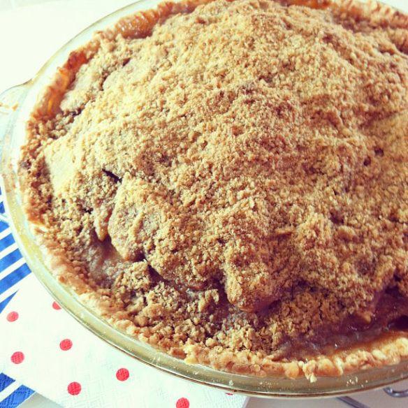 instagram Cinnamon Crumble Apple Pie | Sweet Recipes | Pinterest