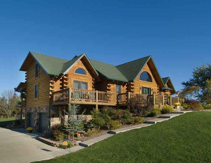 My Dream Log Home Via Log Home Living Dream Housee