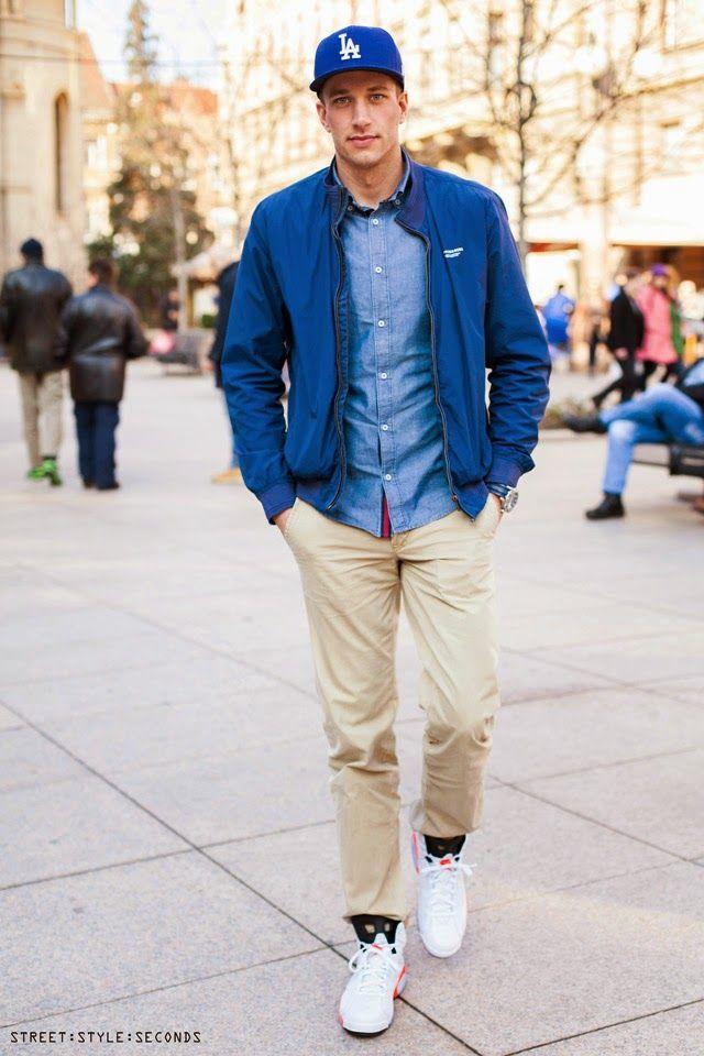 Mens casual fashion