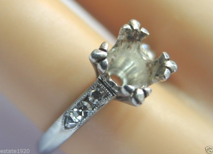 Ring Settings Engagement Ring Settings ly Antique