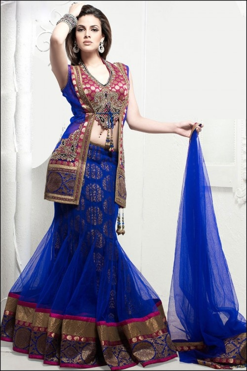 Indian dresses for girls engagement