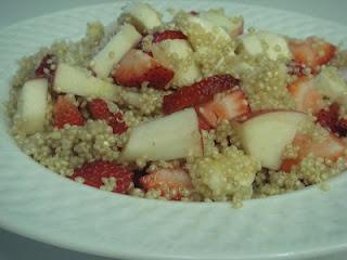 Sweet Breakfast Quinoa Fruit Salad! | Quinoa. | Pinterest