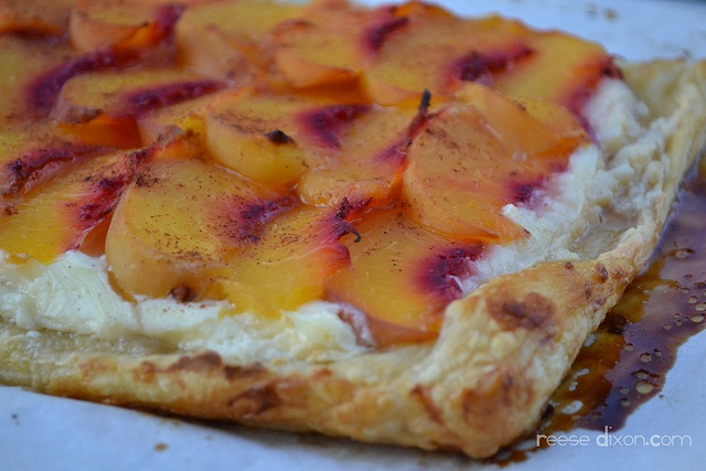 Peaches and Cream Galette   Peaches, Cobblers and more   Pinterest