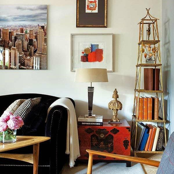Modern Ideas For Interior Decorating With Bookcases And Shelves