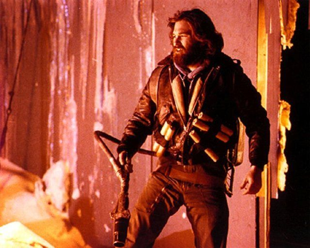 Kurt Russel in THE THI...