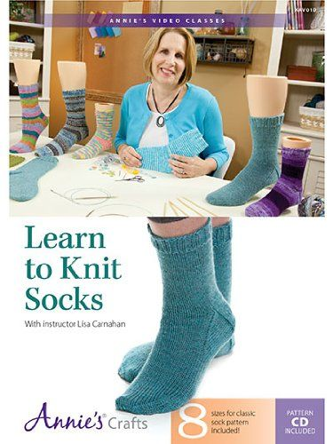 Learn To Knit : Learn to Knit Socks. knitting and crochett projects Pinterest