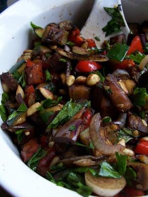 Vegan Grilled Ratatouille Salad