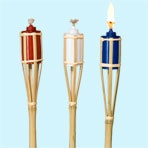 Patriotic Bamboo Garden Torches, 48