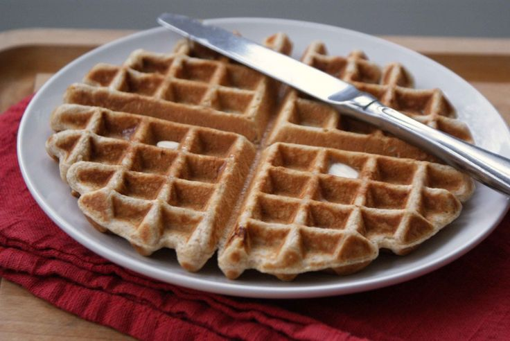 Brown sugar waffles. Add cinnamon for a nice twist.