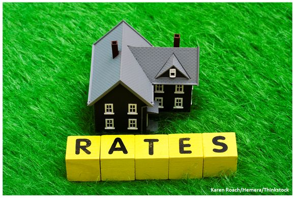average mortgage interest rates in 2008