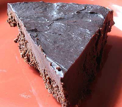 Flourless Chocolate Cake with Bittersweet Chocolate Glaze   Recipe