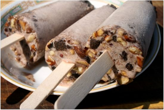 Paletas de Chocolate - Mexican chocolate pop laced with the scent of ...