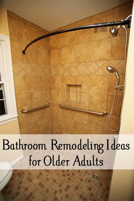 Bathroom Remodeling Ideas For Older Adults