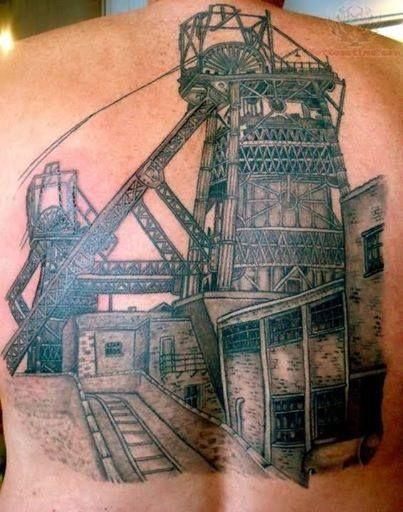 coal mine tattoos