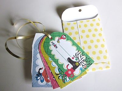 Today's Fabulous Finds: 'Gift Tag' Ornaments