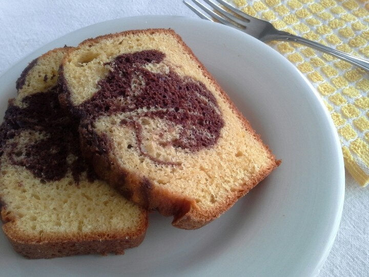 Marble Pound Cake - because I was bored | What I Made | Pinterest