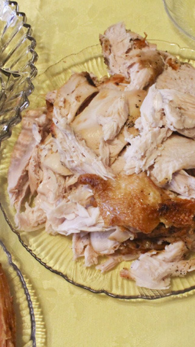 Slow-Roasted Turkey Breast | thanksgiving | Pinterest