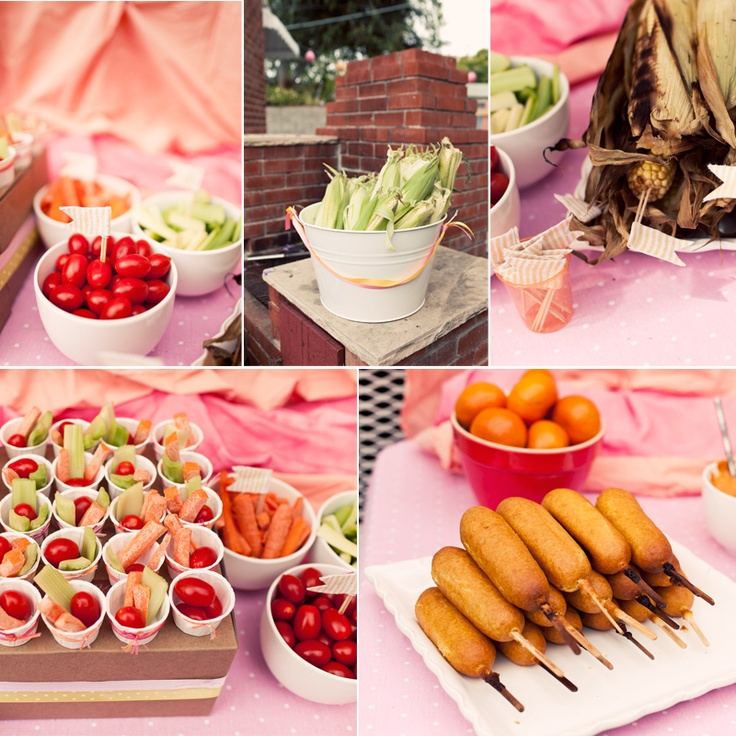 Fun summer party party food pinterest for Summer party menu ideas
