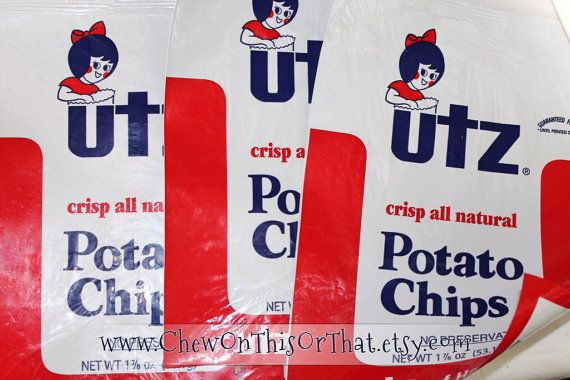 Mail me your potato chip or cookie bags for custom order upcycled rep