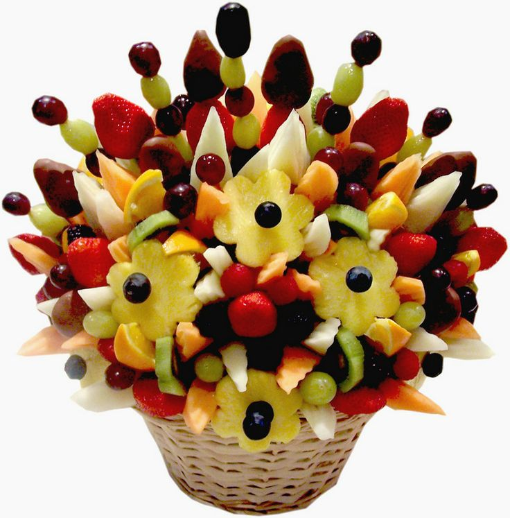 Edible fruit arrangement craft ideas pinterest Fruit bouquet