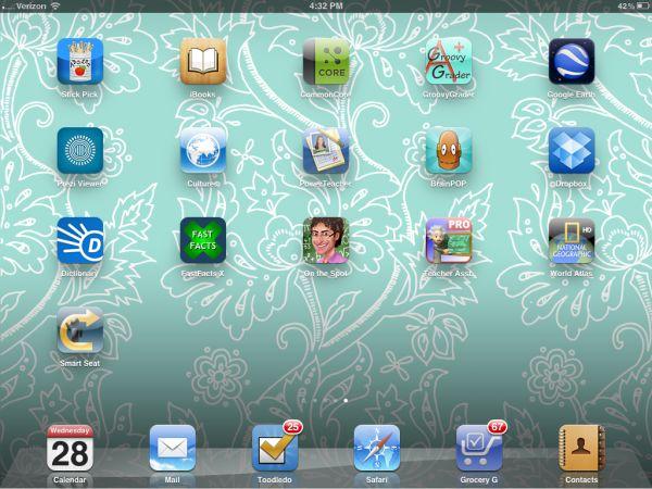 Great ipad apps for teachers: Teacher Assistant Pro; Stick Pick; Smart Seat; ...