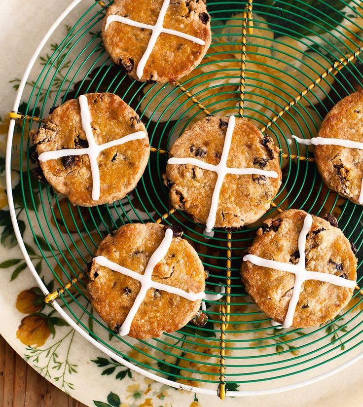 Hot Cross Biscuits | Baking | Pinterest