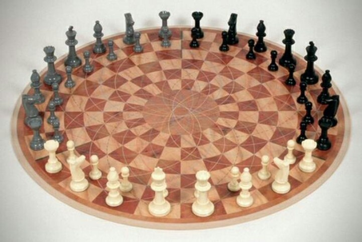 4 person chess set