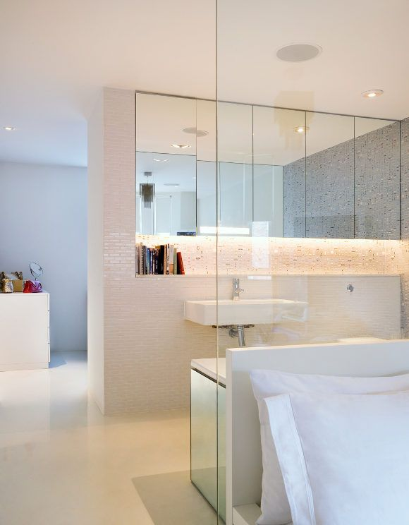 Bedroom And Bathroom Combination Living Space Pinterest