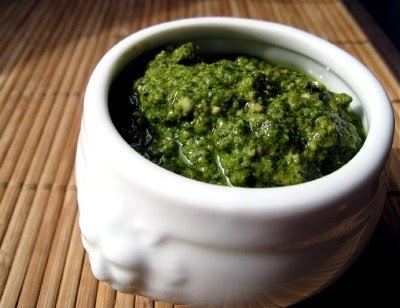 Spinach Basil Vegan Pesto | Sauces, Dips, and Dressings | Pinterest