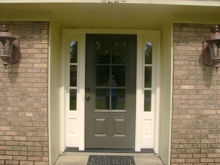 New front door with sidelights our new home pinterest for New front door