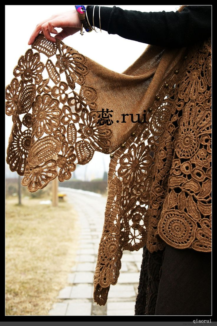 Pattern! Crochet Lace & Edgings Pinterest