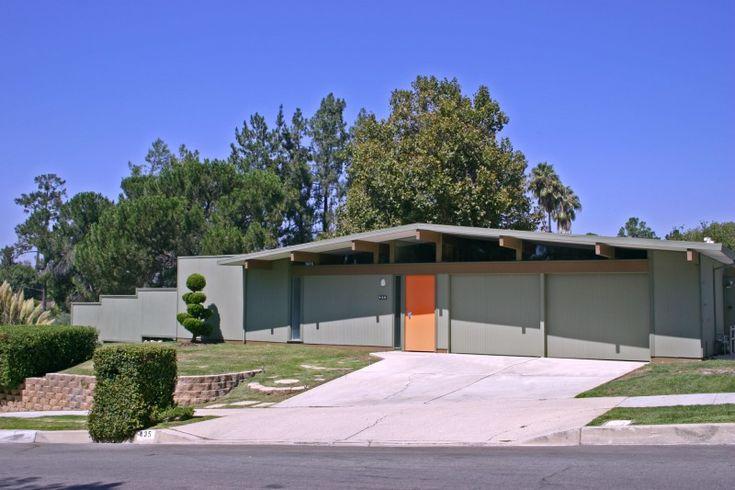 Eichler Atomic Mid Century Ranch Pinterest