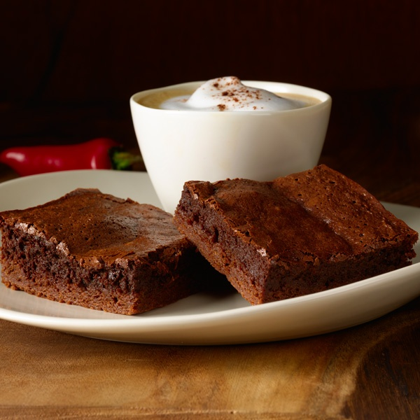 Cocoa Chile Truffle Brownies
